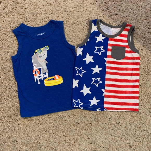 Cat & Jack Sleeveless Shirts